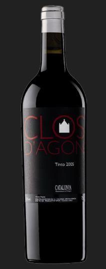 Clos d'Agon 2010 D.O. Catalunya. Roussanne, Syrah, Viognier, Cabernet Franc, Cabernet Sauvignon, Monastrell, Merlot, Marsanne, Petit Verdot