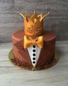 Birthday Cake For Papa, Birthday Cake For Boyfriend, Boyfriend Cake, Birthday Cards, Happy Birthday, Elegant Birthday Cakes, Beautiful Birthday Cakes, Cake Decorating Videos, Birthday Cake Decorating