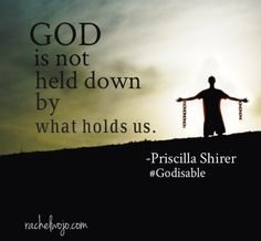 Priscilla Shirer';s new release #Godisable up for giveaway on the blog- don't miss it!