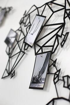Notre Map Monde En Metal Pour Une Decoration Murale Design