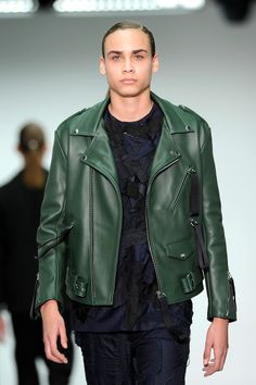 Gq, Military Jacket, Leather Jacket, London, Jackets, Collection, Fashion, Fall Winter 2014, Sports