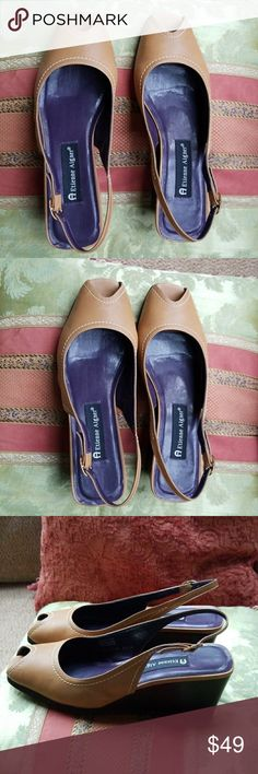 Etienne Signer leather shoes Excellent condition no significant flaws.  8.5m Etienne Aigner Shoes