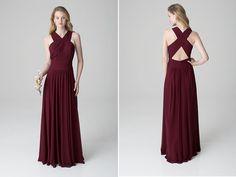 Bridesmaid dress by Bill Levkoff (Style 1271).