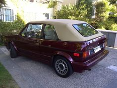 VW Golf Cabrio Golf 1 Cabriolet, Vw Golf Cabrio, Vw Mk1, Volkswagen Golf, Mk 1, Old School Cars, Vw Beetles, Muscle Cars, Cool Cars