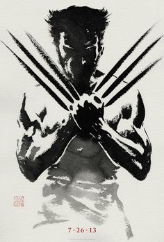What do you think of this art created for the film The Wolverine? Be sure to check out Marvel.com for more news and exclusive content on the upcoming film!        https://marvel.com/movies/movie/183/the_wolverine?nav=1