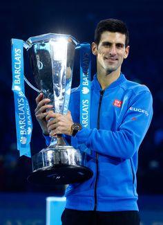 Novak Djokovic Photos: Barclays ATP World Tour Finals - Day Eight