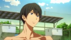 Haruka Nanase, Free Eternal Summer, Free Iwatobi Swim Club, Free Anime, Vocaloid, Swimming, Animation, Fan Art, Wallpaper