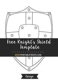 Knight's Shield Template – Large Children's Church Crafts, Vbs Crafts, Bible Crafts, Knight Shield, Knight Armor, Shield Template, Fall Of Jerusalem, Medieval Bedroom, Cub Scout Crafts