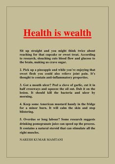 essay about health essay on health is wealth speech on health is  essays on health pinarkubkireklamoweco essays on health suryakumarlamba  suryakumarlamba on pinterest