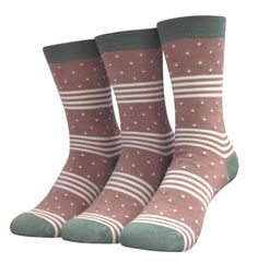 thought - Women's Catherine Print Bamboo Socks - Pack of 3 Pairs (Terracotta) Bamboo Socks, Sustainable Fabrics, Organic Cotton, Packing, Cozy, Pairs, Beauty, Fashion, Bag Packaging