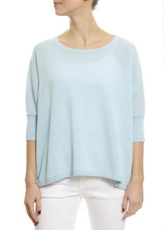 Never underestimate the power of a chunky knit and a cashmere cardigan when the temperature hits a low. Rose Clothing, Blue Shorts, Sweater Weather, Cashmere Sweaters, Baby Blue, Knitwear, Sweatshirts, Sleeves, Clothes