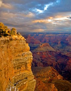 Been: Sunrise At the Grand Canyon~Both times I have been there snow has been laying all over the canyon, really amazing.