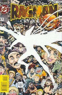 Ragman Cry of the Dead (1993) 5 DC Comic Book cover art Modern age comics