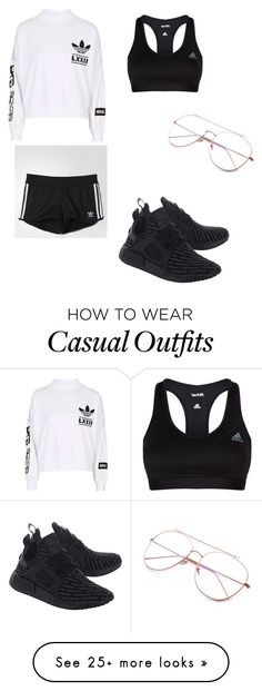 """""""Casual everyday look"""" by gigimohamed on Polyvore featuring adidas and adidas Originals"""