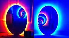 Portal mirrors. These are insanely cool! I'm hitting geek overload right now.