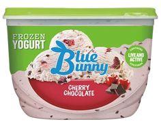 Ice Cream Flavors List, Blue Bunny Ice Cream, Chocolate Cherry, Frappe, Vanilla Ice Cream, Frozen Yogurt, Sorbet, Gelato, Cravings