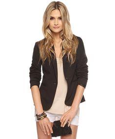 Forever 21 Ponte Knit Jacket