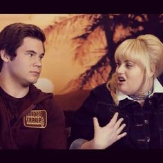 """""""You're gonna get pitch-slapped so hard, your man boobs are gonna concave."""" - Fat Amy"""