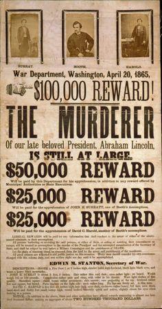 The Manhunt for John Wilkes Booth | Atlas Obscura