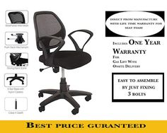 Rating : 3.7 out of 5  Reviews : More than 20 reviews about it.  The reviews and rating indicate it is a good one  It's approximate price is Rs. 4,000 Best Computer Chairs, Student Chair, Rs 4, Mesh Chair, Home Office Chairs, Study Office, Mesh Fabric, India, Goa India