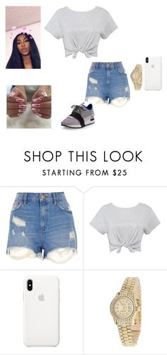 """""""Untitled #973"""" by thenewclassic-278 on Polyvore featuring River Island, Rolex and Balenciaga"""