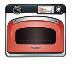 """Turbo Chef 30"""" Single Speedcook Oven - 240V - Stainless Steel #RWS-9020-1, designed in a retro style. = $8,000  http://www.turbochef.com/residential/products2/overview.aspx"""