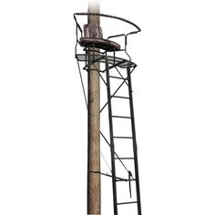 Hunting Tree Stand Stadium Tower Luxury 2 Man Steel, Ladder XL17.5