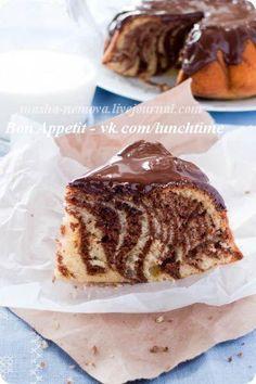 Мраморный кекс                              Bon Appétit | Лучшие рецепты мира