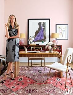 Lauren Santo Domingo in this month's Architectural Digest!