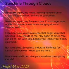 Sunshine Through Clouds by Pacific Myst