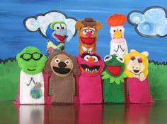 Felt Muppet Puppets