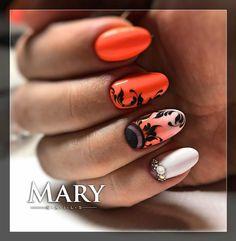 #nail #nails #nails #nailstagram #nailart #colors #crystalnails #crystalnailshungary #műköröm #indák #indásköröm #manikür #маникюр… French Manicure Designs, Cute Nail Designs, Gelish Nails, 3d Nails, Queen Nails, Lace Nails, Art Of Beauty, Acrylic Gel, Crystal Nails