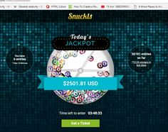 Check out my new post! Snuckls Daily Jackpot -> $2500 :) https://how-to-earn-extra-money-from-home.com/snuckls-daily-jackpot-2500?utm_campaign=crowdfire&utm_content=crowdfire&utm_medium=social&utm_source=pinterest