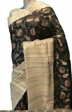 Banarasi handloom pure tussar silk saree