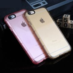 Anti Knock Shockproof Rugged Hybrid Rubber Armor Transparent Soft TPU Case For iPhone 7 5 SE / 6 6S/ 6s Plus Cover Phone Cases #>=#>=#>=#>=#> Click on the pin to check out discount price, color, size, shipping, etc. Save and like it!