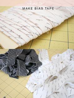How to make Bias tape // Megan Nielsen Design Diary // @megan_nielsen