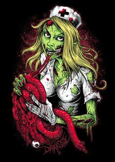 #zombie #gore #nurse