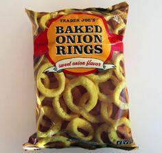 vegan funyuns: trader joe's baked onion rings!
