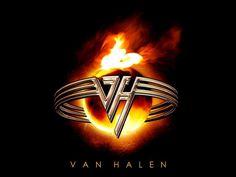 Wallpaper Van Halen logo x 1080 HDTV Desktop wallpapers . Alex Van Halen, Eddie Van Halen, Rock Band Logos, Rock Bands, We Are Many, Logo Facebook, Fire Ring, Music Logo, Rock Music