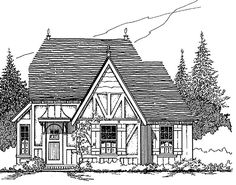 Cottage House Plan 62415