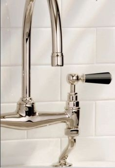 Lefroy-Brooks-Black-Ceramic-Lever-Bridge-Mixer-Deck-Mounted