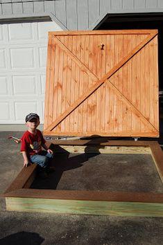 Sandbox for kids!