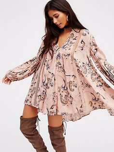 Product Image: Just the Two of Us Paisley Printed Tunic