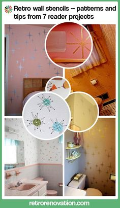 Retro wall stencils — patterns and tips from 7 reader projects