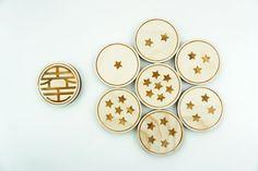 Dragon Ball Z Coasters by MokuShop on Etsy