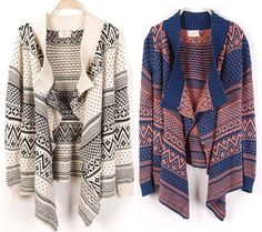 bohemian waterfall drape open front cardigan from shinning on storenvy