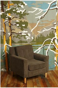 I Would Love A Bill Blair Paint By Number Mural. | Inspiration For The  Apartment Home | Pinterest | Faux Grass, Murals And Paint By Number Awesome Ideas
