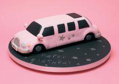 Sweet 16 Pink Limousine Cake by Karen Taylor