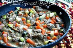 Mommy's Kitchen: Quick & Easy Skillet Ground Beef Stew