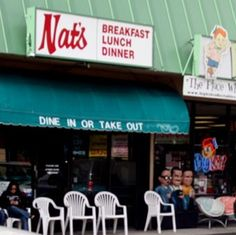 Nat's Early Bite - the BEST greasy spoon in California